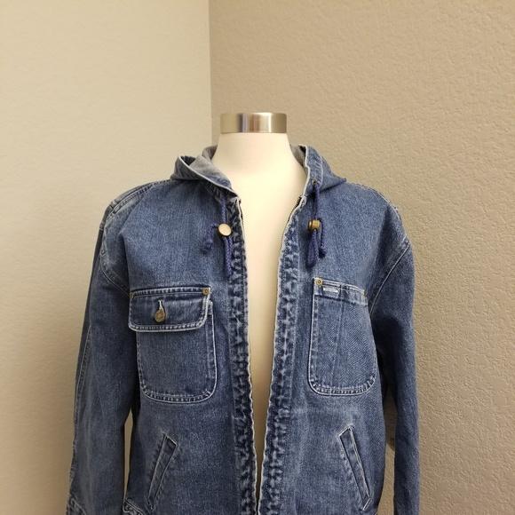 Jones Wear Jackets & Blazers - Jones Wear Sport Denim Jean Jacket